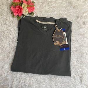 Dry Goods Co. Freedom Foundry grey long sleeve shirt size large